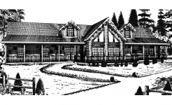 Grand Mesa log home from nh log cabin homes