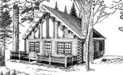 Lakewood log home from nh log cabin homes