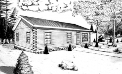 Little Wilson log home from nh log cabin homes