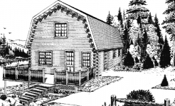 Rockwood log home from nh log cabin homes