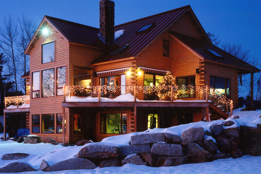 Log home custom design